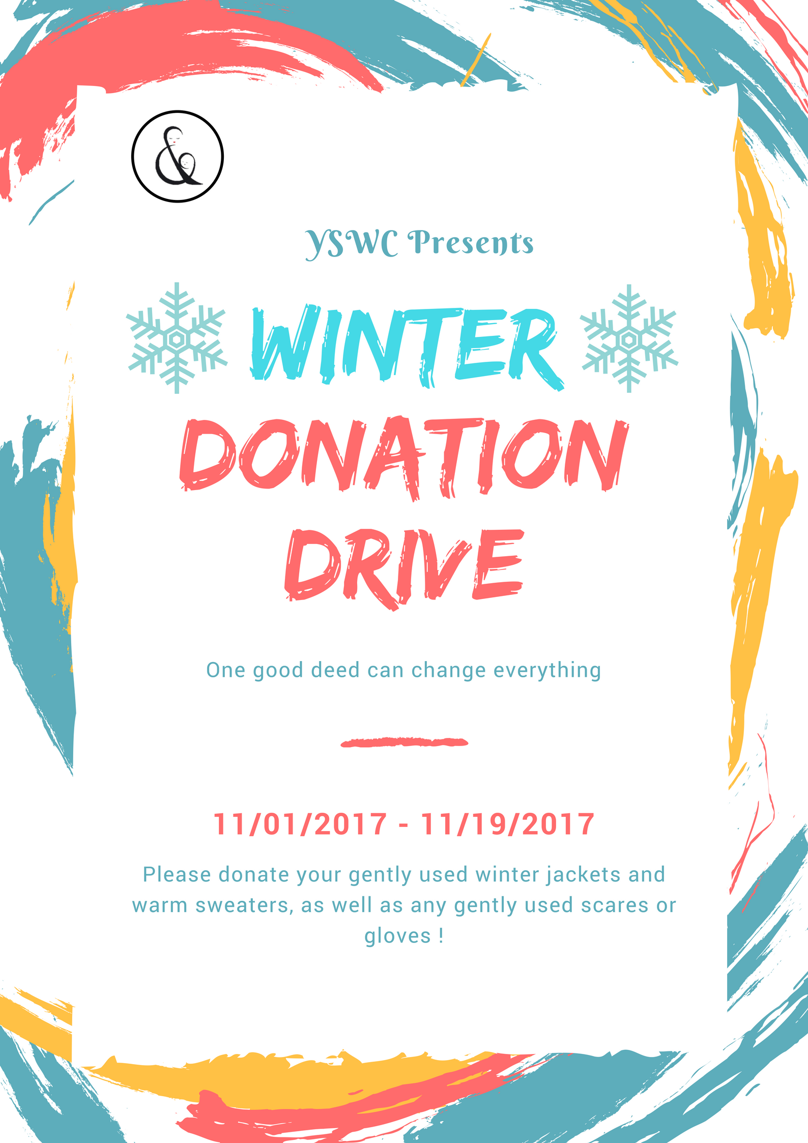 Yswc Winter Donation Drive \u2013 York Students for Women and